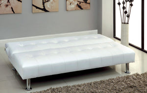 CM2669P-WH - Bulle Withe Adjustable Sofa Bed