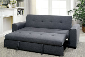CM2815 Reilly Convertible Grey Sofa Bed