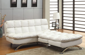 CM2906 Aristo Leatherette Sofa Bed