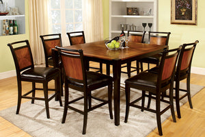 CM3034PT - Salida Counter Height Table with 8 Chairs
