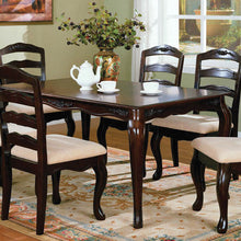 7-Piece Dining Table Set CM3109T Townsville Dining Table with 6 Chairs