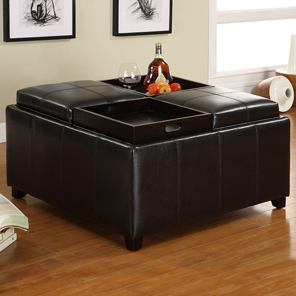 CM4044 - Elvina Storage Ottoman with Tray