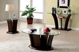CM4104C - Manhattan Dark Cherry Coffee Table