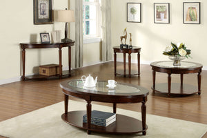 CM4131 Coffee Table - Granvia Dark Cherry Traditional Style Coffee Table