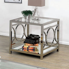 CM4166 Coffee Table - Rylee Chrome Finish Contemporary Style Coffee Table