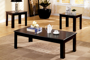 CM4168-3PK - Town Square Espresso 3-Piece Coffee Table Set