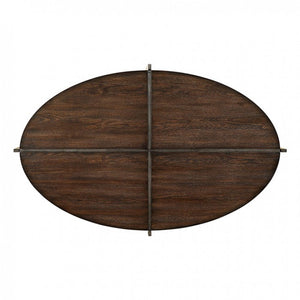 CM4312 Coffee Table - Matilda Dark Oak Finish Contemporary Style Coffee Table