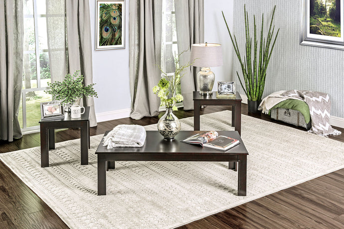 CM4329-3PK - Bay Square 3-Piece Coffee Table Set
