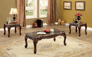 CM4487BR-3PK - Lechester Brown Coffee Table Set