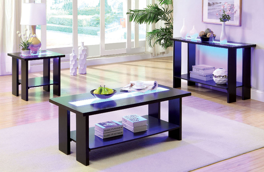 CM4559C - Luminar Coffee Table with LED Lights