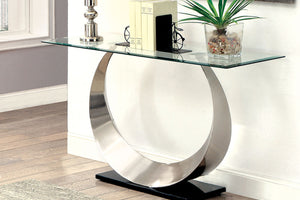 CM4726 Sofa Table - Orla Modern Style Curved U-Shaped Structure Sofa Table