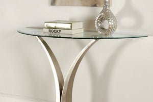 CM4727 Sofa Table - Valo Modern Style V-Pedestal Structure Sofa Table