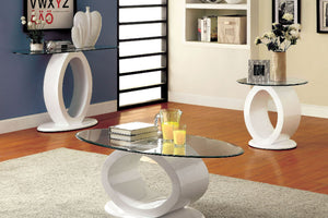 CM4825WH-C - Lodia White Coffee Table