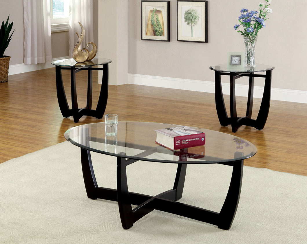 CM4848-3PK - Dafni 3-Piece Coffee Table Set