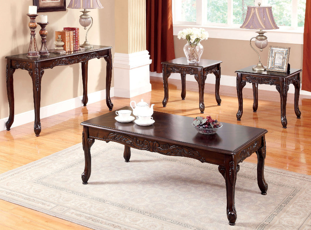 CM4914-3PK - Cheshire Cherry Coffee Table Set