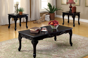 CM4914 Coffee Table Set - Cheshire Black 3-Piece Coffee Table Set