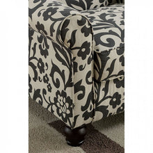 CM6139B Accent Chair - Clea Transitional Style Floral Pattern Fabric Accent Chair