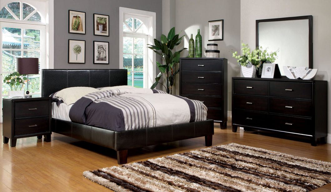 CM7008Q - Winn Park Espresso Queen Bed