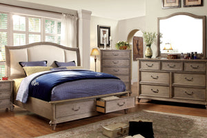 CM7614 - Belgrade Queen Storage Platform Bed