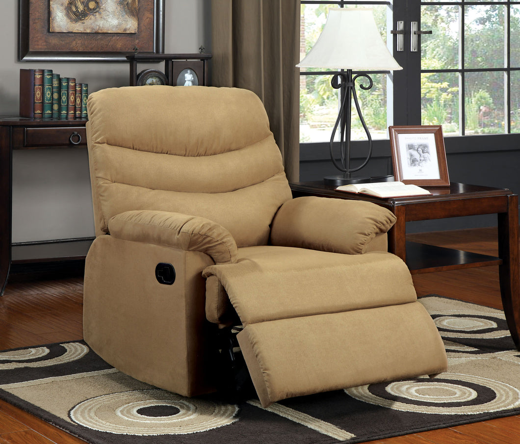 CM-RC6927LB - Pleasant Valley Tan Finish Microfiber Recliner