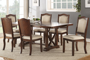 F2398 - Dining Table with 6 Chairs