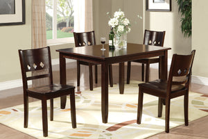 F2242 - Dining Table with 4 Chairs
