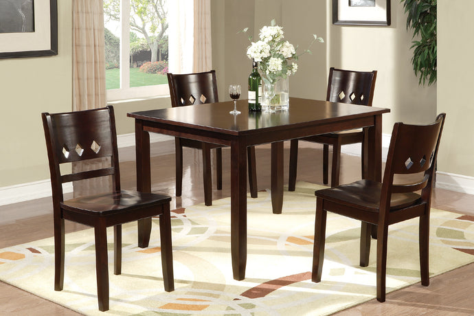 F2242 - Porto Dining Table with 4 Chairs
