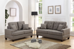 F6501 - Donna Sofa and Loveseat Set