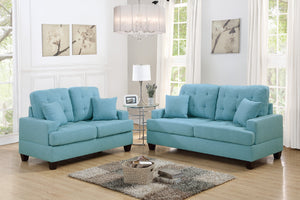 F6502 - Donna Sofa and Loveseat Set