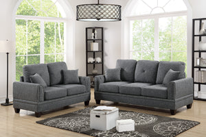 F6507 - Niki 2-PCs Sofa and Loveseat Set