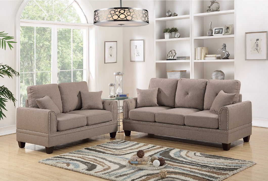 F6509 - Niki Sofa and Loveseat Set