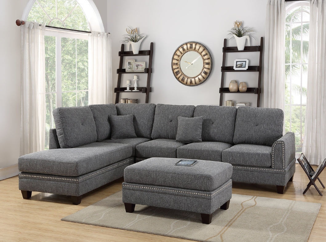 F6511 - Victor Reversible Sectional Sofa