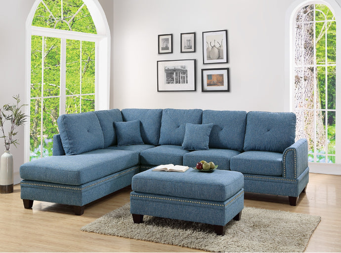 F6512 - Victor Reversible Sectional Sofa