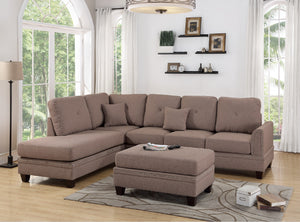 F6513 - Victor Reversible Sectional Sofa