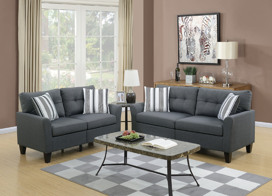 F6533 - Jessi Sofa and Loveseat Set