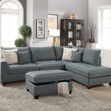 F6542 Clara Sectional with Ottoman