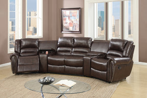 F6748 - Cassia Home Theater Recliner Sectional