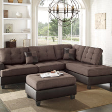 F6857 - Jax Reversible Sectional with Ottoman