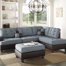 F6858 - Jax Reversible Sectional with Ottoman