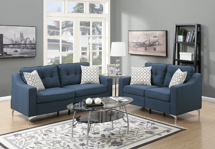 F6893 Carla 2-PCs Sofa Loveseat Set
