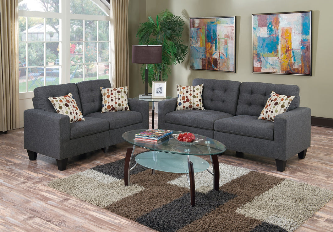 F6901 - Donna Sofa and Loveseat Set