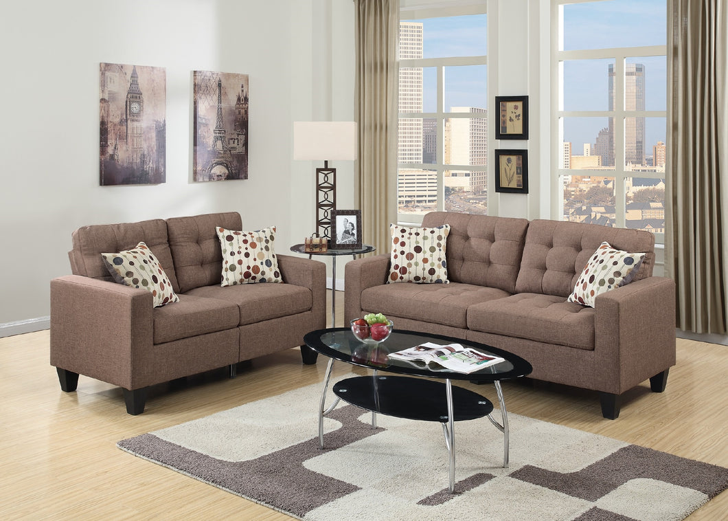 F6904 - Donna Sofa and Loveseat Set
