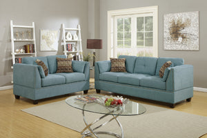 F6918 - Nicole 2-PCs Sofa and Loveseat