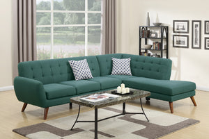 F6955 Lily 2-PCs Sectional Sofa