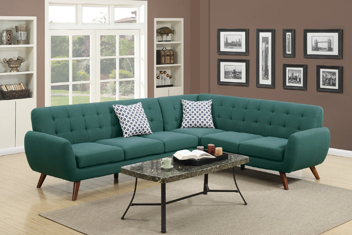 F6963 Lily 2-PCs Sectional Sofa