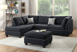 Maya 3-PCs Reversible Sectional Sofa Set F6974