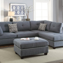 F6975 - Maya Reversible Sectional with Ottoman