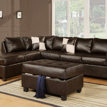 F7351 - Marco Reversible Sectional with Ottoman