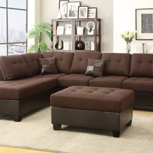 F7602 - Dave Reversible Sectional with Ottoman