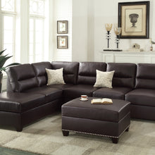 F7609 - Fano Reversible Sectional with Ottoman